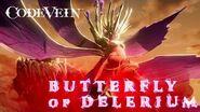 Code Vein - Butterfly of Delerium Boss Trailer - PS4 XB1 PC
