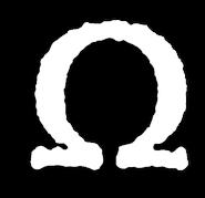 Symbol - Omega White Shadow