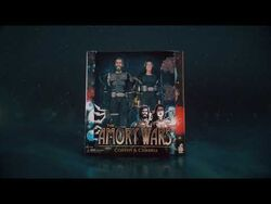 Tha Amory Wars - Coheed and Cambria Action Figure Set -Official Commercial-