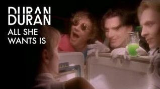 Duran Duran - All She Wants Is (Official Music Video)