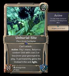 Unburial Site