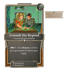 Consult the Beyond