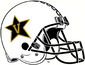 NCAA-ACC-Vanderbilt Commodores White Anchor Down helmet
