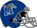 NCAA-USA-Memphis Tigers helmet grey facemsk