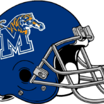 NCAA-USA-Memphis Tigers helmet grey facemsk.png