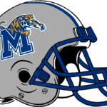 NCAA-USA-Memphis Tigers silver helmet.png