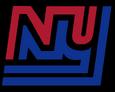 New-York-Giants-Logo-1975-Red & Blue - Black background