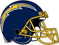 NFL AFC-Helmet-SD-1974-1983