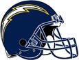 NFL AFC-Helmet-SD-1987-2004