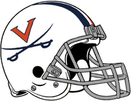 NCAA-ACC-2019 Virginia Cavs White helmet