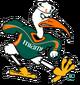 NCAA-ACC-Miami Hurricanes mascot logo