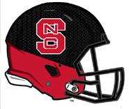 NCAA-NC State Pack in Black alternate helmet