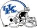 NCAA-SEC-UK Wildcats Old Helmet-White