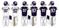 NFL-NFC-1970-79 MIN- Viking Jerseys