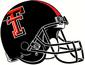 NCAA-Big 12-Texas Tech Red Raiders Black Helmet