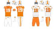 NCAA-SEC-Tennessee Vols old jerseys