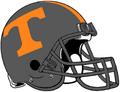 NCAA-SEC-Tennessee Vols Smoky Grey helmet
