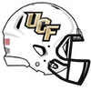 NCAA-2016 UCF Knights white helmet