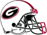 NCAA-SEC-Georgia Bulldogs White helmet
