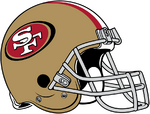 NFL-NFC-SF Helmet - Left Face