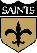 NFL-NFC-NO-1967-1974 Saints shield logo