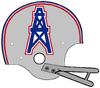 NFL-AFC-HOU-Oilers 1971 Helmet