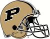 NCAA-Big 10-Purdue Boilermakers Helmet 4