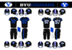 BYU Cougars Blackout Jersey