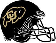 NCAA-Colorado Buffaloes Black Helmet