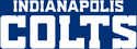 NFL-AFC-Indianapolis Colts-white wordmark-2020