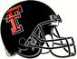 NCAA-Big 12- 2000-2010 Texas Tech Red Raiders Black Helmet