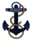 Navy Midshipmen anchor alt logo