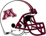 NCAA-Big 10-Minnesota Golden Gophers White Helmet