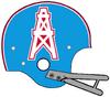 NFL-AFC-HOU-Oilers 1972-74 Helmet