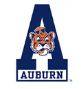 1971-81 Auburn Tigers Aubie Tiger A logo