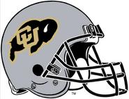 NCAA-Colorado Buffaloes Silver Helmet