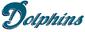 Dolphins alternate aqua blue wordmark