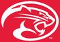 NCAA-AAC-Houston Cougars mascot log-Red