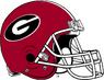 NCAA-SEC-Georgia Bulldogs helmet