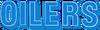 NFL-Houston-TEN Oilers large Columbia Blue-White wordmark