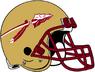 NCAA-ACC-1976-2013 Florida State Seminoles Gold helmet