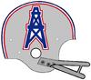 AFL-NFL-AFC-1966-1970 HOU-Oilers helmet