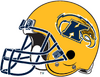 Kent State Golden Flashes Gold helmet-Right side
