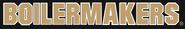 NCAA-Big 10-Purdue Boilermakers teamname Black Script Logo