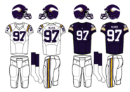 NFL-NFC-1985-95 MIN- Viking Jerseys