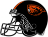 NCAA-PAC12-Oregon State Beavers helmet-black-right side