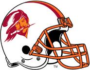 NFL-1976-1996 Tampa Bay Buccaneers helmet