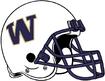 NCAA-Pac-12-Washington Huskies White helmet