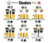 NFL AFC Retro Uniforms PIT-1525px