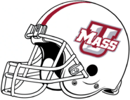 UMass 2020 White Helmet-Right side